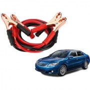 Auto Addict Premium Quality Car 500 Amp Heavy Duty Copper Core Tangle Battery Booster Cable 7.5 Ft For Toyota Camry