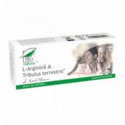 L-arginina + Tribulus Terrestris 30 capsule Medica