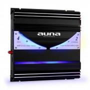 Auna AMP-CH02 Amplificador bidireccional Hifi coche 190W RMS 1400W max.