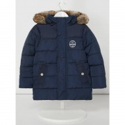 Review for Kids Steppjacke mit Webpelz