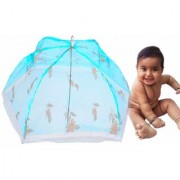 OH BABY Baby Folding 6 SPOKE FULL SIZE PRINTED UMBRELAA Mosquito Net FOR YOUR KIDS SE-MN-27