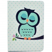 MULBA For IPad Air Wallet Case,iPad Air Flip Case,Baby Owl Colorful Synthetic PU Leather Stand Cover For Ipad 5th,Slim Flip Case Protective Carrying Cases For Apple IPad
