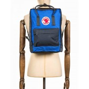 Fjallraven Kanken Classic Backpack - Graphite/UN Blue Colour: Graphite