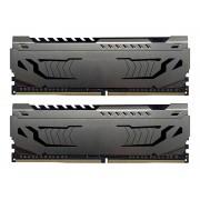 Модуль памяти Patriot Memory Viper Steel DDR4 DIMM 3733MHz PC4-29800 CL17 - 16Gb KIT (2x8Gb) PVS416G373C7K