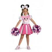 Minnie Mouse Cheerleader Child Costume (4-6)