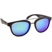 Stacle Rectangular Sunglasses(Blue)