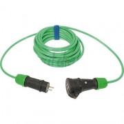 Verlengsnoer PUR kabel 3x2,5mm² 25m groen
