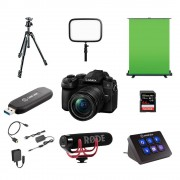 Panasonic Lumix DMC-G90 Streamingkit plus + G Vario 12-60/3,5-5,6 Asph/Power OIS