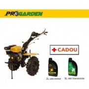 Pachet ProGarden HS 1100-16 - Motosapa 16CP, benzina + Cadou 2l ulei motor si 3l ulei transmisie