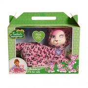 Just Play Safari Surprise Bianca Leopard Plush