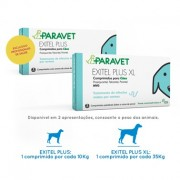 PARAVET EXITEL PLUS (CÃO) 2 Comprimidos