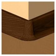 PBE605.267-S4 - Set 4 bucati piese colt exterior culoare cires maroniu pentru plinta PBC605