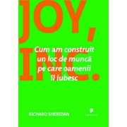 Joy, Inc. Cum am construit un loc de munca pe care oamenii il iubesc/Richard Sheridan