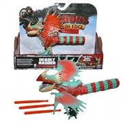 Spin Master Dragons - Action Game Set Dragon Stormfly Deadly Nadder Spike Attack
