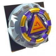 Lego Parts: Atlantis Portal Treasure Key Bundle (1) Gold Band and Triangle Pattern Treasure Key (1) Locking 4 x 4 Square Base Turntable with Pin (1) Jagged Edge Key Holder