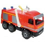 Camion de pompieri Lena Gigant cu pompa apa functionala, 64cm ,sustine 100 kg