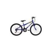 Bicicleta New Wave 21 V Aro 24 Azul - Mormaii