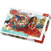 Puzzle Trefl 100 piese - Magia din Avalor