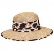 SEEBERGER cappello paglia naturale tesa larga per donna