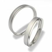 Snubní prsteny z chirurgické oceli 0140200028