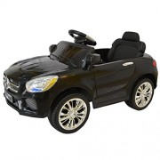 Costzon Black 6V Kids Ride On Car RC Remote Control Battery Powered w/ LED Lights MP3