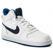Обувки NIKE - Court Borough Mid 838938 103 White/Thunder Blue/Blue Jay
