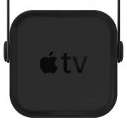 Elago Multi Mount Apple TV - силиконова поставка за Apple TV с няколко начина на закрепяне към стена или метална повърхност