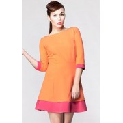 Jazz sukienka (pomarańczowo-różowy)