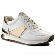 Michael Kors Sneakersy MICHAEL MICHAEL KORS - Allie Plate Wrap Trainer 43R7ALFS4L085 Optic White