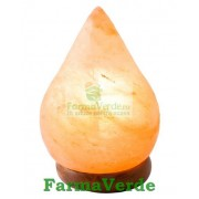 Lampa Electrica Din Cristale De Sare Picatura Monte