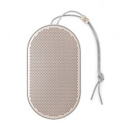 B & O BeoPlay P2 Portable Bluetooth Speaker with Built-In Microphone - Sand Stone