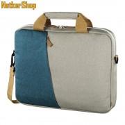 """Hama Florence 101573 15.6"""" kék-szürke notebook táska (1 év garancia)"""