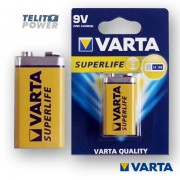SUPERLIFE 6F22 VARTA zinc-carbon