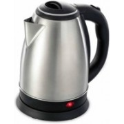 BOMBINATE Hot Water Pot Portable Boiler Tea Coffee Warmer Heater Cordless Electric Kettle(1.8 L, Silver)
