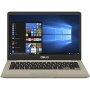 ASUS VivoBook S410UA-EB139T-BE 2.4GHz i3-7100U 14'' 1920 x 1080Pixels Goud Notebook