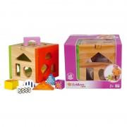 Simba Toys 100002224 La Boite À Formes - En Bois