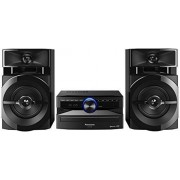 Panasonic Stereo Hi Fi Panasonic Sc Ux100E K Bluetooth USB Lettore Cd Mp3 e Cd R R 300W