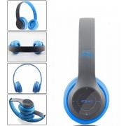 Casti wireless MRG L-P47 Albastru cu Bluetooth , Handsfree