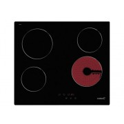 CATA Placa de Vitrocerámica CATA TN 604 (Eléctrica - 59 cm - Negro)