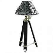 Maxwhite Lampa retro M007F-BF - lampa na stativu - světlo designové - lampa designová