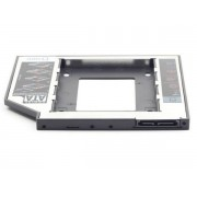 "MF-95-01 Gembird Fioka za montazu 2.5"" SSD/SATA HDD(do 9.5mm) u 5.25"" leziste u Laptop umesto optike"