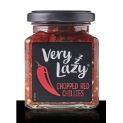 Very Lazy Chopped Red Chillies in White Wine Vinegar 190g