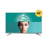 """Tesla TV 49T609SUS 49"""" TV LED slim DLED DVB-T2/C/S2 Ultra HD Linux Smart grey"""