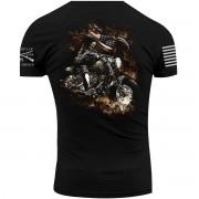 Grunt Style Women's Freedom Rider Crewneck T-Shirt - Black