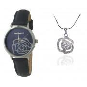 Cadou Blue Roses Ceas Cacharel Colier Roses Borealy