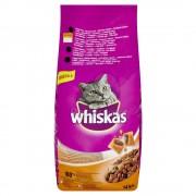 Whiskas hrană uscată cu pui 14 kg