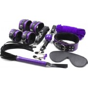Set Bondage Kit 8 Piese Violet Guilty Toys