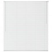 vidaXL Jaluzele pentru ferestre, aluminiu, 100 x 130 cm, alb