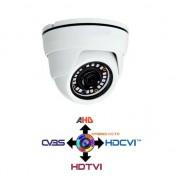 NO BRAND Telecamera Dome CCTV 2.8mm 4IN1 IBRIDA 1Mpx HD@720p da interno IP20
