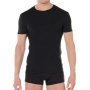 Hom Мужская классическая футболка черная HOM First Cotton 03256cK9
